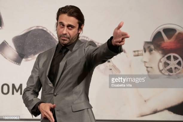 Actor Jordi Molla attends the 'Una Pistola En Cada Mano' Premiere during the 7th Rome Film Festival at the Auditorium Parco Della Musica on November...