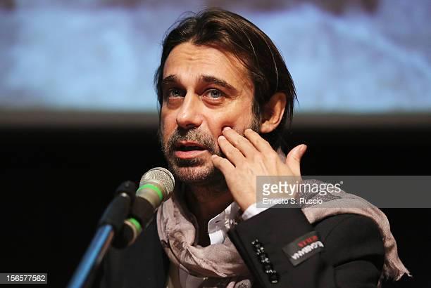 Actor Jordi Molla attends the 'Una Pistola En Cada Mano' Press Conference during the 7th Rome Film Festival at Sala Petrassi on November 17 2012 in...