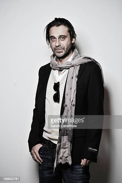 Actor Jordi Molla during a portrait session at the 7th Rome Film Festival on November 17 2012 in Rome Italy
