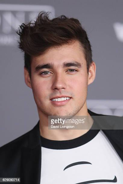 Actor Jorge Blanco arrives at the premiere of Walt Disney Pictures and Lucasfilm's 'Rogue One A Star Wars Story' at the Pantages Theatre on December...