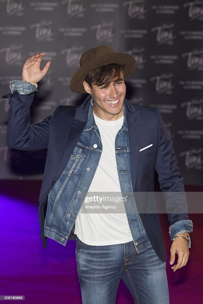 Actor Jorge Blanco attends the premiere of Tini-La nuova vita di Violetta at Auditorium Parco della Musica on April, 29, 2016 in Rome, Italy.