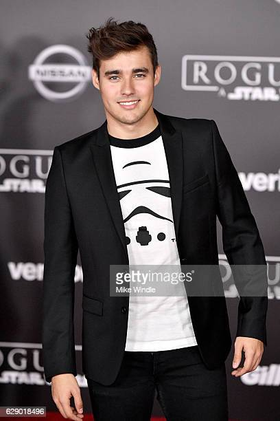Actor Jorge Blanco attends the premiere of Walt Disney Pictures and Lucasfilm's 'Rogue One A Star Wars Story' at the Pantages Theatre on December 10...