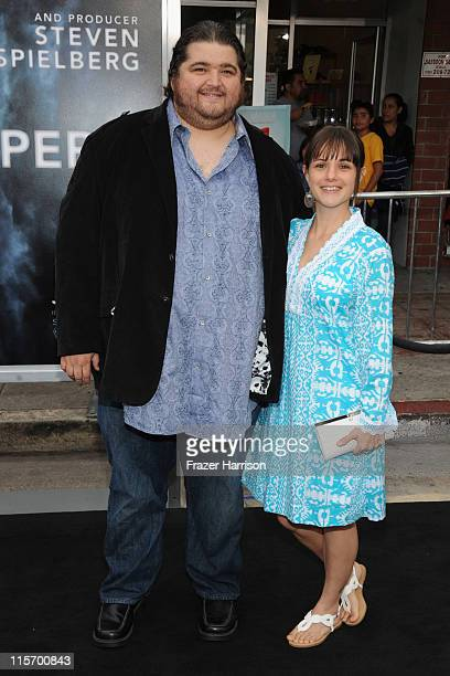 Actor Jorge Garcia and Beth Shady arrive at the premiere of Paramount Pictures' 'Super 8' at Regency Village Theatre on June 8 2011 in Westwood...