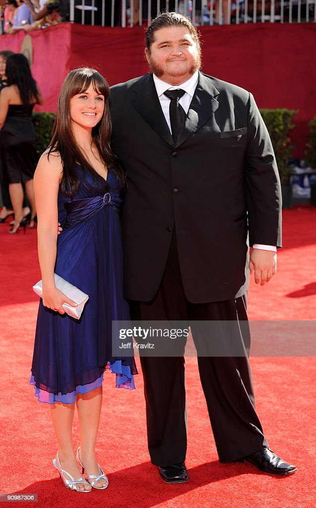 Actor Jorge Garcia arrives at the 61st Primetime Emmy Awards held at the Nokia Theatre on September 20, 2009 in Los Angeles, California.