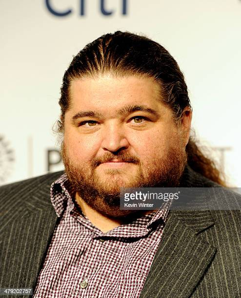 Actor Jorge Garcia arrives at The Paley Center Media's PaleyFest 2014 Honoring 'Lost' 10th Anniversary Reunion at the Dolby Theatre on March 16 2014...