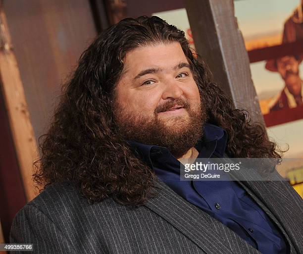 Actor Jorge Garcia arrives at the premiere of Netflix's 'The Ridiculous 6' at AMC Universal City Walk on November 30 2015 in Universal City California