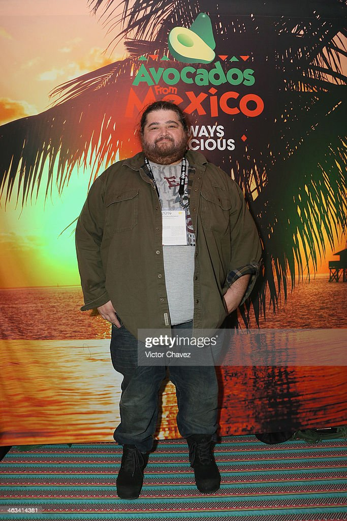 Actor Jorge Garcia attends Avocados From Mexico Film Festival Suite on January 17 2014 in Park City Utah