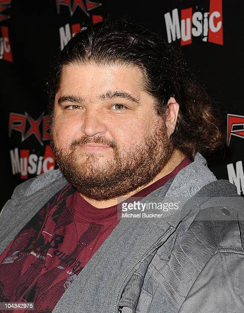 Actor Jorge Garcia attends the 'AXE Music One Night Only' concert series featuring Weezer at Dunes Inn Motel Sunset on September 21 2010 in Hollywood...