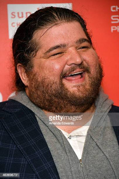 Actor Jorge Garcia attends the 'Coties' premiere at the Egyptian Theatre on January 18 2014 in Park City Utah