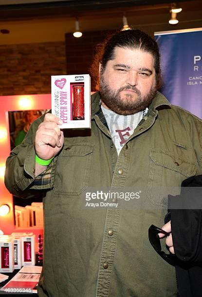 Actor Jorge Garcia attends the Kari Feinstein Style Lounge on January 17 2014 in Park City Utah