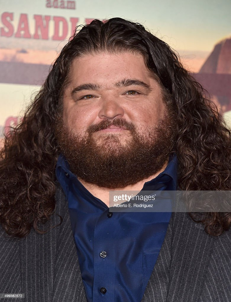 Actor Jorge Garcia attends the premiere of Netflix's 'The Ridiculous 6' at AMC Universal City Walk on November 30 2015 in Universal City California