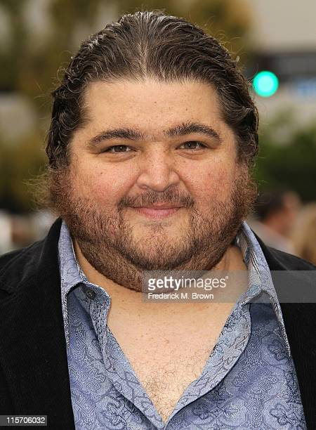 Actor Jorge Garcia attends the Premiere of Paramount Pictures' 'Super 8' at the Regency Village Theater on June 8 2011 in Los Angeles California