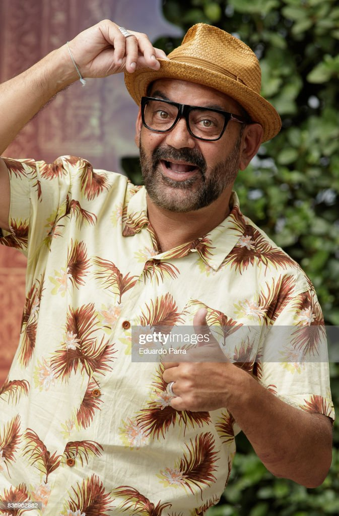 Actor Jose Corbacho attends the 'Tadeo Jones 2. El secreto del Rey Midas' photocall at the Ritz hotel on August 22, 2017 in Madrid, Spain.