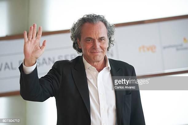 Actor Jose Coronado attends 'El Hombre De las Mil Caras' photocall at the Kursaal Palace during 64th San Sebastian International Film Festival on...
