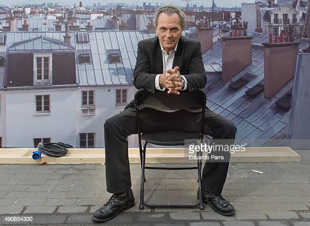 Actor Jose Coronado attends 'El hombre de las mil caras' set filmg portrait session at Julian Camarillo 66 on September 30 2015 in Madrid Spain