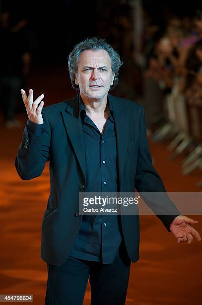 Actor Jose Coronado attends the 6th FesTVal Television Festival 2014 closing ceremony at the Principal Theater on September 6 2014 in VitoriaGasteiz...