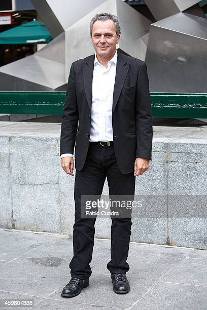 Actor Jose Coronado poses during a photocall to present 'Fuego' on November 26 2014 in Madrid Spain