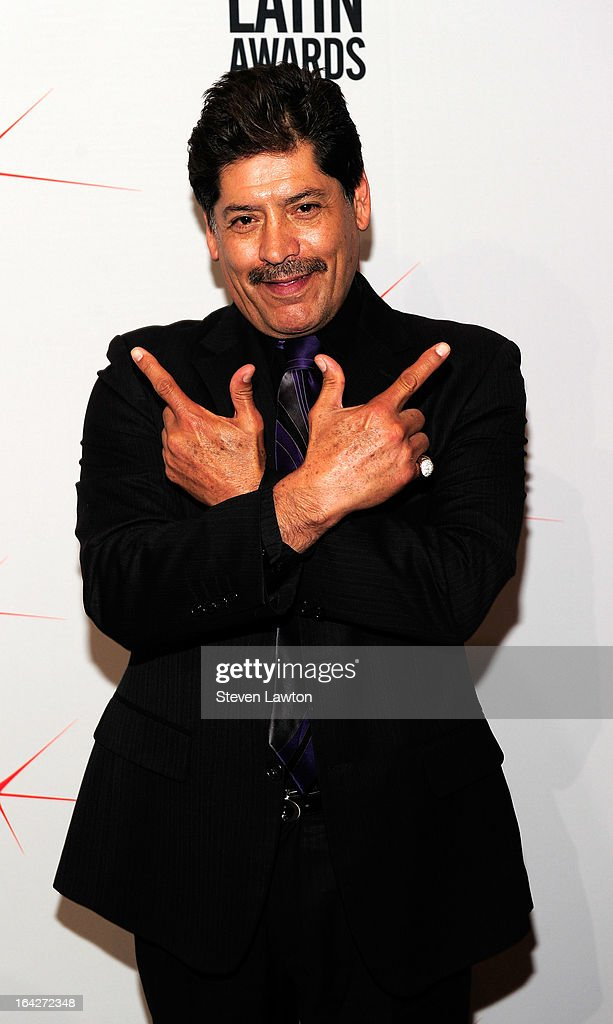 Actor Jose Luis Rodiguez arrives at the BMI;s 20th Annual Latin Music Awards at the Bellagio on March 21, 2013 in Las Vegas, Nevada.
