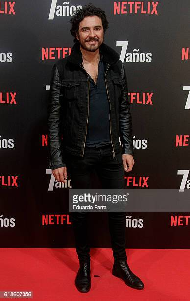 Actor Jose Manuel Seda attends the '7 anos' photocall at Capitol cinema on October 27 2016 in Madrid Spain