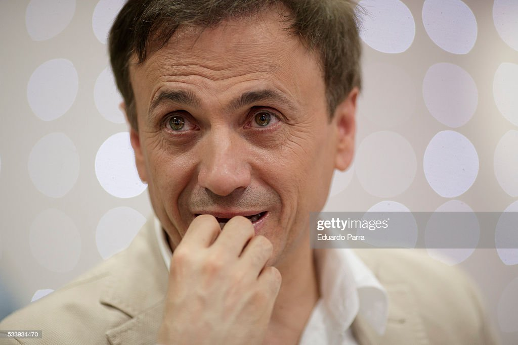 Actor Jose Mota attends 'El hombre de tu vida' press conference at RTVE studios on May 24, 2016 in Madrid, Spain.