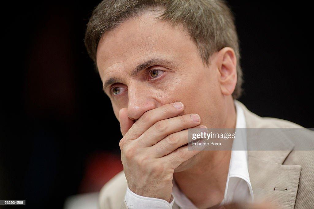 Actor Jose Mota attends 'El hombre de tu vida' press conference at RTVE studios on May 24, 2016 in Madrid, Spain.