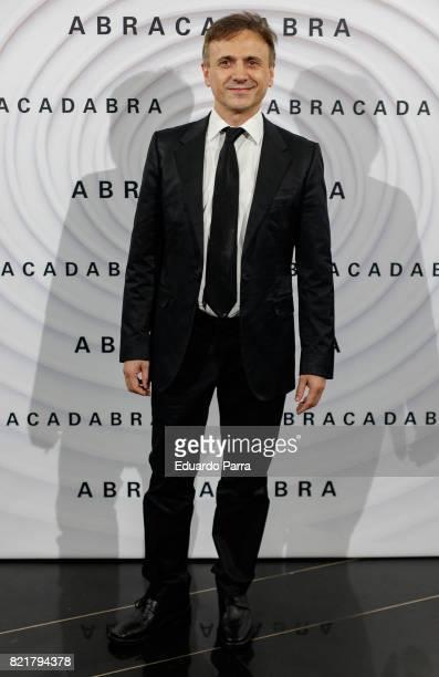 Actor Jose Mota attends the 'Abracadabra' premiere at Palacio de la Prensa cinema on July 24 2017 in Madrid Spain