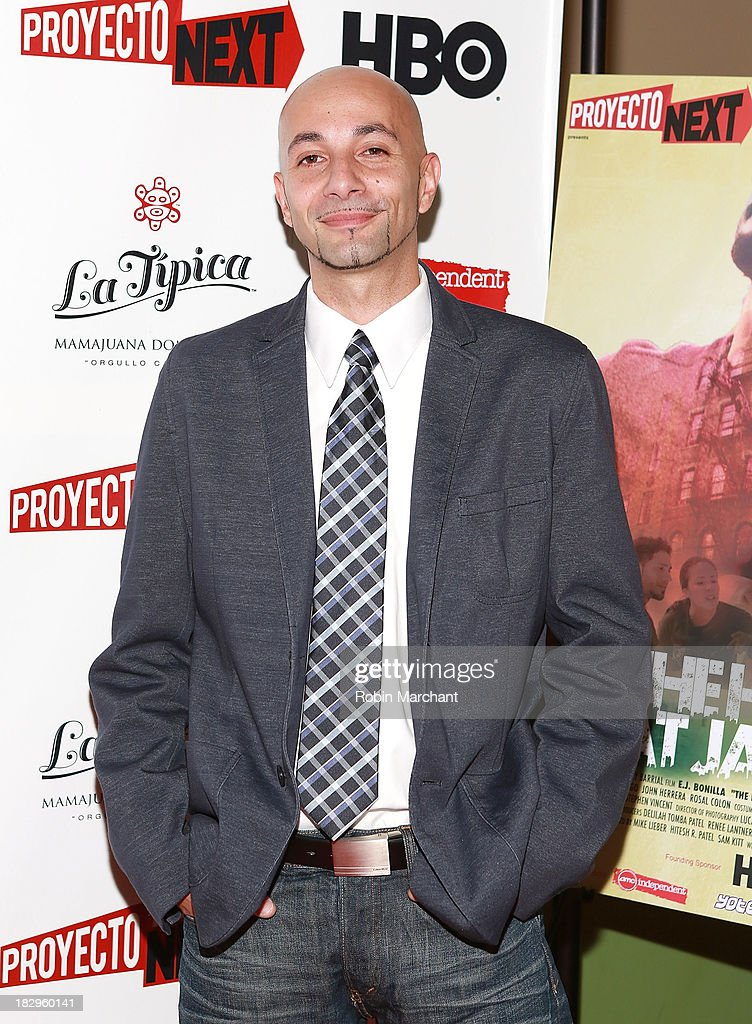 Actor Jose Soto attends the premiere of the 'The House That Jack Built' at AMC Empire 25 theater on October 2, 2013 in New York City.