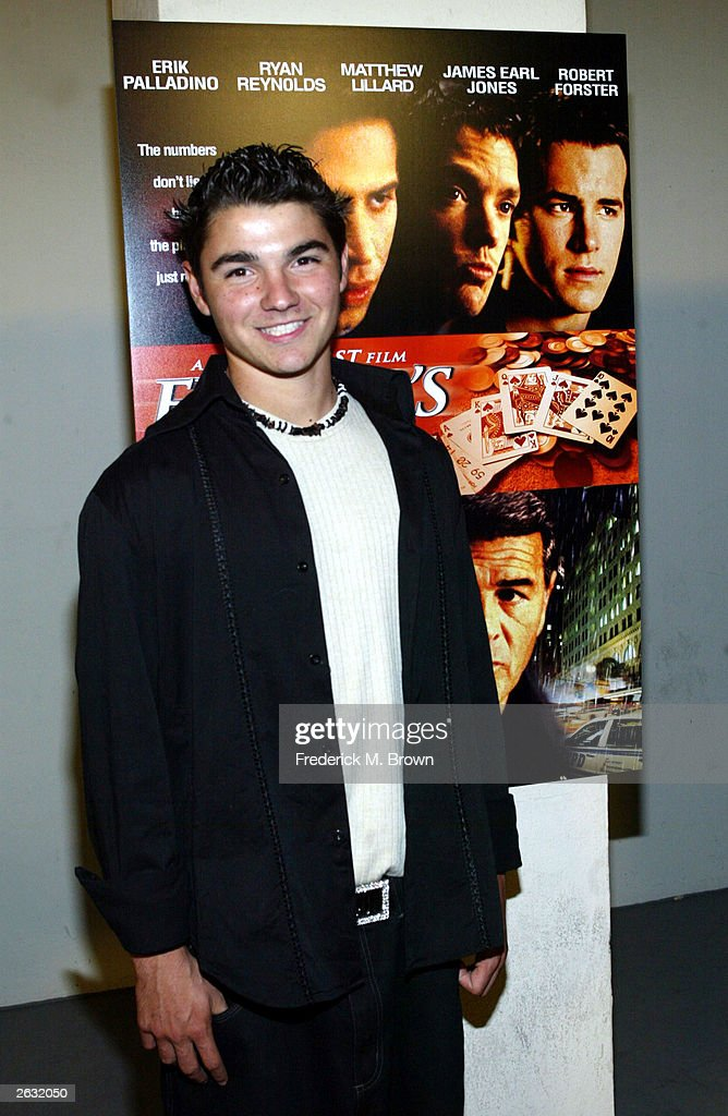 Actor Joseph Ashton attends the film premiere of 'Finder's Fee' at the Writers Guild of America on October 22 2003 in Beverly Hills California