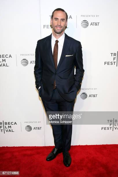 Actor Joseph Fiennes attends the premiere of 'The Handmaid's Tale' during Tribeca Film Festival at BMCC Tribeca PAC on April 21 2017 in New York City