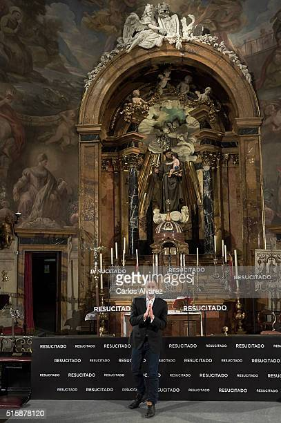 Actor Joseph Fiennes attends the 'Risen' photocall at the San Antonio de los Alemanes Church on March 16 2016 in Madrid Spain