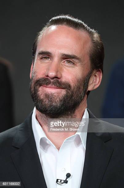 Actor Joseph Fiennes from Hulu's Original 'The Handmaid's Tale' speaks onstage during Hulu's 2017 Winter TCA Tour at Langham Hotel on January 7 2017...