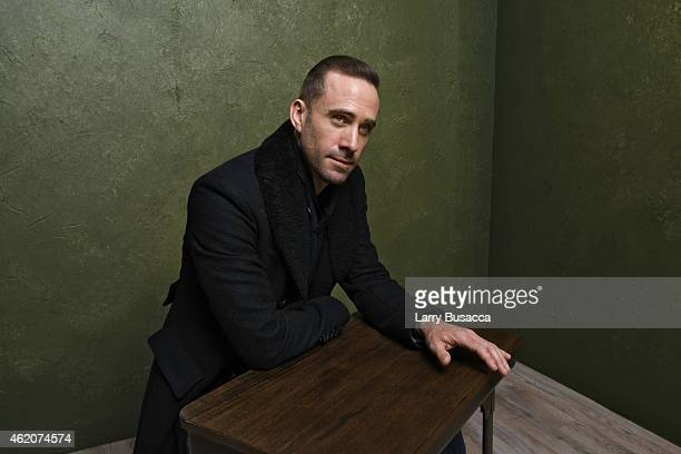 Actor Joseph Fiennes from 'Strangerland' poses for a portrait at the Village at the Lift Presented by McDonald's McCafe during the 2015 Sundance Film...