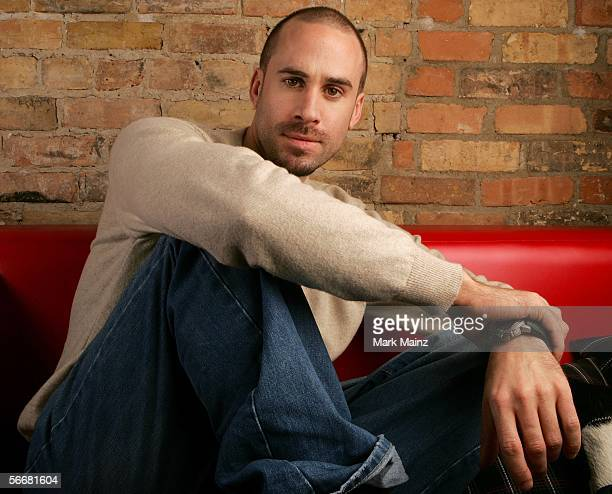 Actor Joseph Fiennes from the film 'The Darwin Awards' poses for a portrait at the VW lounge during the 2006 Sundance Film Festival on January 26...