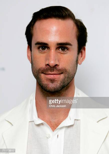 Actor Joseph Fiennes poses for a photograph as he arrives for the Raisa Gorbachev Foundation Launch Party On June 10 2006 in Althrop England The...
