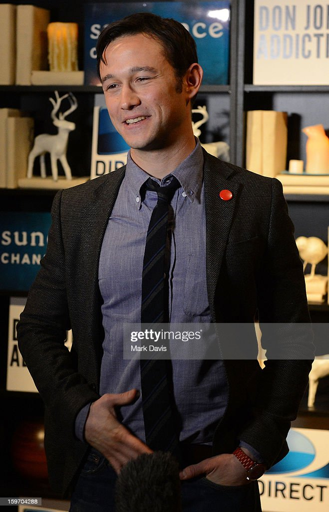 Actor Joseph Godron-Levitt attends the 'Don Jon's Addiction' premiere party hosted by DirecTV and Sundance Channel on January 18, 2013 in Park City, Utah.