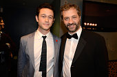 Actor Joseph GordonLevitt and writer/director Judd Apatow attend the 3rd Annual Hilarity for Charity Variety Show to benefit the Alzheimer's...