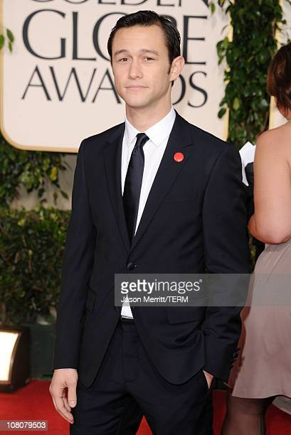 Actor Joseph GordonLevitt arrives at the 68th Annual Golden Globe Awards held at The Beverly Hilton hotel on January 16 2011 in Beverly Hills...