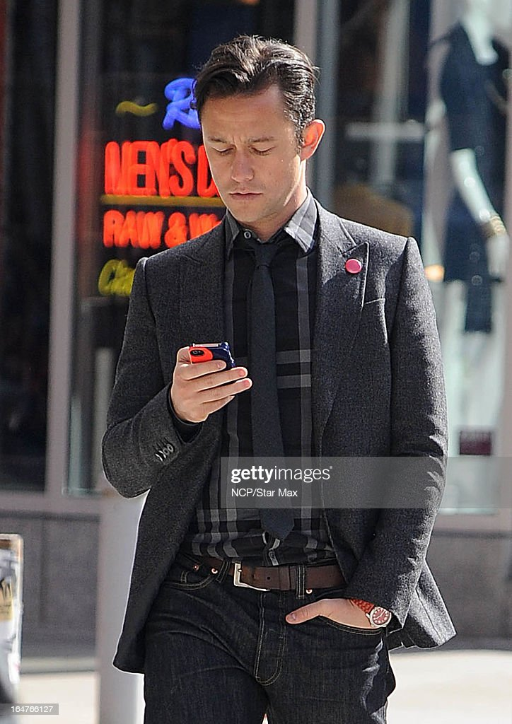 Actor Joseph Gordon-Levitt as seen on March 26, 2013 in New York City.