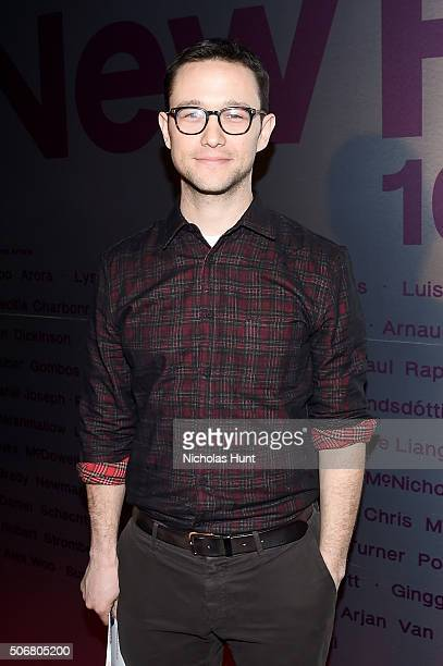 Actor Joseph GordonLevitt attends Social Cinema New Frontier 10th Anniversary Dinner during the 2016 Sundance Film Festival at New Frontier on...