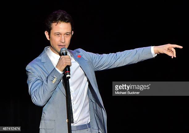 Actor Joseph GordonLevitt attends the 3rd Annual Hilarity for Charity Variety Show to benefit the Alzheimer's Association presented by Genworth at...