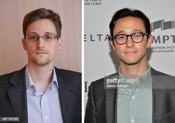 In this composite image a comparison has been made between Edward Snowden and Joseph GordonLevitt actor Actor Joseph GordonLevitt will play Edward...
