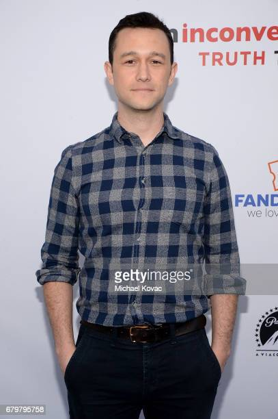 Actor Joseph GordonLevitt attends the Advance Fandango screening of Paramount Pictures' 'An Inconvenient Sequel Truth to Power' at The Greek Theatre...