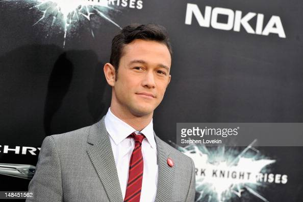 Actor Joseph GordonLevitt attends 'The Dark Knight Rises' premiere at AMC Lincoln Square Theater on July 16 2012 in New York City