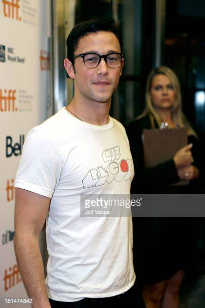 Actor Joseph GordonLevitt attends 'The Master' premiere during the 2012 Toronto International Film Festival at Princess of Wales Theatre on September...