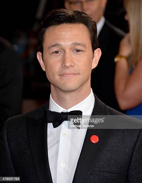 Actor Joseph GordonLevitt attends the Oscars held at Hollywood Highland Center on March 2 2014 in Hollywood California