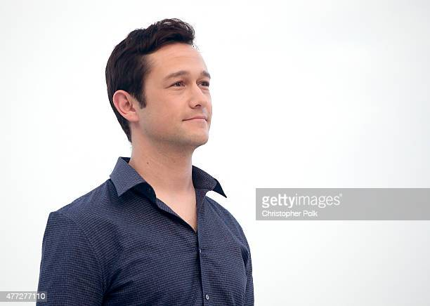 Actor Joseph GordonLevitt attends the 'The Walk' photo call during Summer Of Sony Pictures Entertainment 2015 at The RitzCarlton Cancun on June 15...