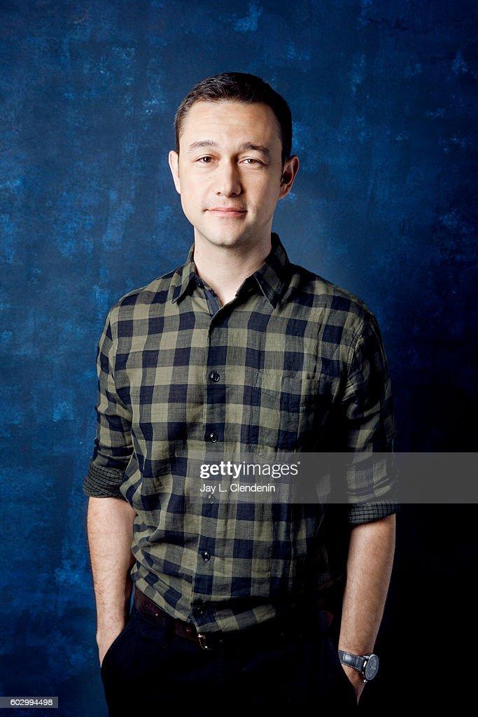 Actor Joseph Gordon-Levitt of 'Snowden' poses for a portraits at the Toronto International Film Festival for Los Angeles Times on September 9, 2016 in Toronto, Ontario.