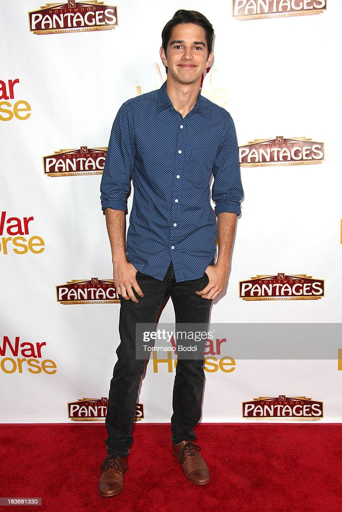 Actor Joseph Haro attends the 'War Horse' Los Angeles opening night held at the Pantages Theatre on October 8, 2013 in Hollywood, California.