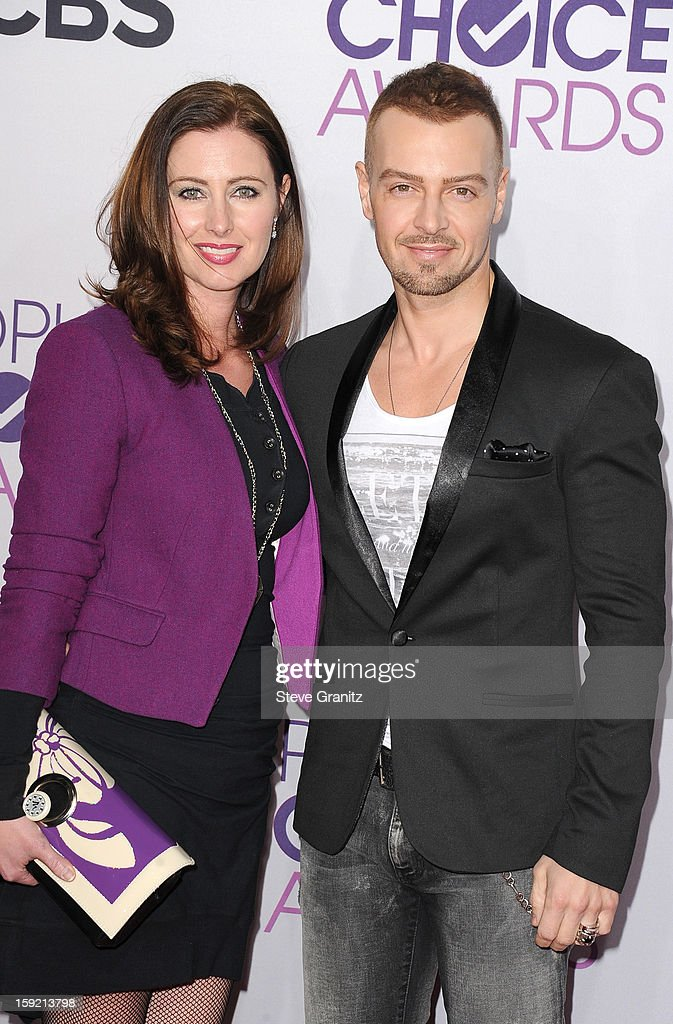 Actor Joseph Lawrence (R) and guest attend the 2013 People's Choice Awards at Nokia Theatre L.A. Live on January 9, 2013 in Los Angeles, California.