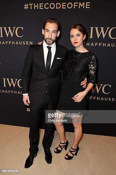 Actor Joseph Mawle and guest attend the IWC Schaffhausen 'Decoding the Beauty of Time' Gala Dinner during the launch of the Da Vinci Novelties from...